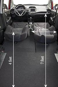 I Just Measured My Honda Fit And Here Are The Interior Dimensions In Case You And Your Girl
