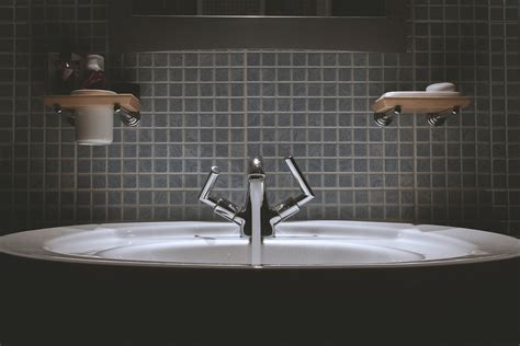 Bathroom, Sink, Faucet, Tap, Water-free