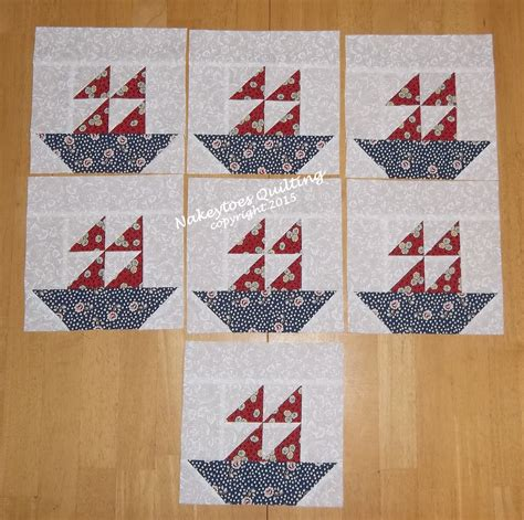 Fishing Boat Quilt by Quilter S Yard Sale Nakeytoes Quilting
