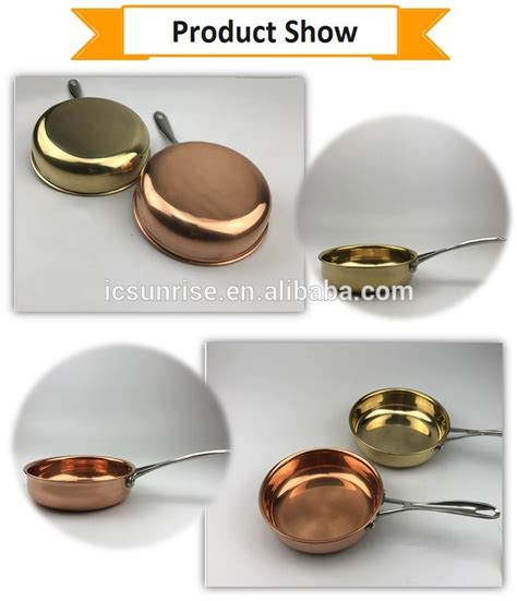 high quality pot pure copper fry pan buy frying panfry pancopper pan product  alibabacom
