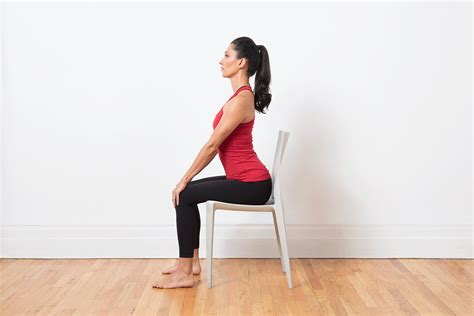 chair yoga poses  home practice