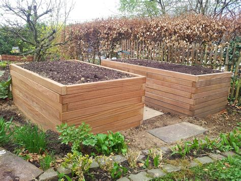 Hochbeete Aus Holz by Hochbeete Holz Jaeger Haus Und Garten
