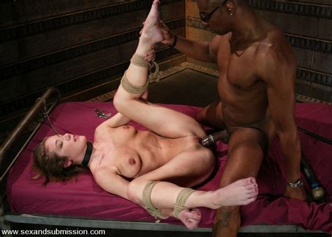 Jade Marx in bondage, domination and interracial sex - Pichunter