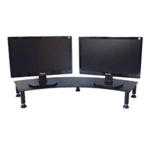 dual monitor riser stand office accessories shops laptop stand and monitor