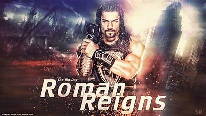Reigns Roman Wwe Wallpapers Deviantart Dogs Poster