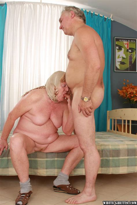 fat granny alice b taking cumshot on big belly after hardcore doggy sex