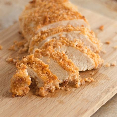 crispy oven baked chicken breasts basil  bubbly