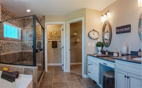 Fischer Homes Clay Floor Plan by Fischer Homes Clay Master Bathroom Bathrooms