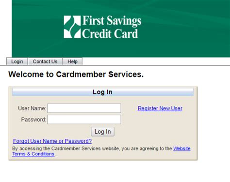 The credit card is offered by the first savings bank. First Savings Credit Card Login   Bill Payment, Application status