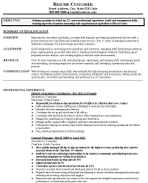 sle management resume resume express
