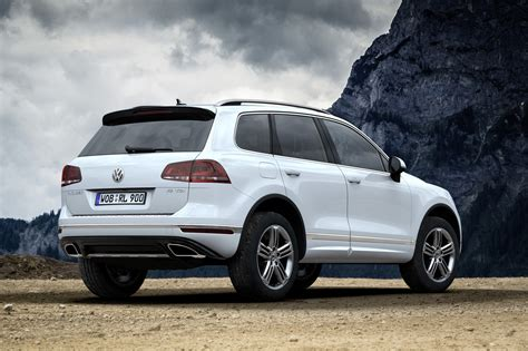 volkswagen touareg vw prices facelifted touareg from 52 125 in germany