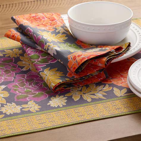 world market table linens succulent table linen collection world market