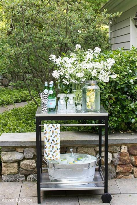 best 20 outdoor bar cart ideas on patio bar