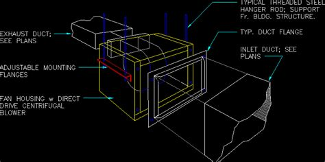 exhaust faninline dwg block  autocad designs cad