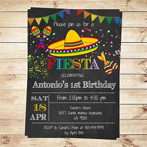 birthday mexican fiesta party invitations printable With free printable mexican wedding invitations
