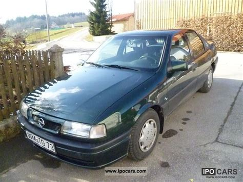 opel vectra 1995 1995 opel vectra gl car photo and specs