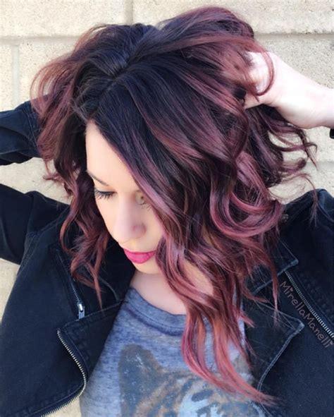 violet hair color ideas best 25 violet highlights ideas on medium