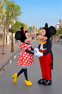 Disney Mickey and Minnie Mouse Disneyland