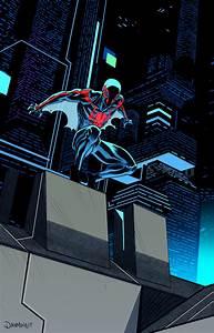 Spiderman 2099/Batman beyond team up on Behance