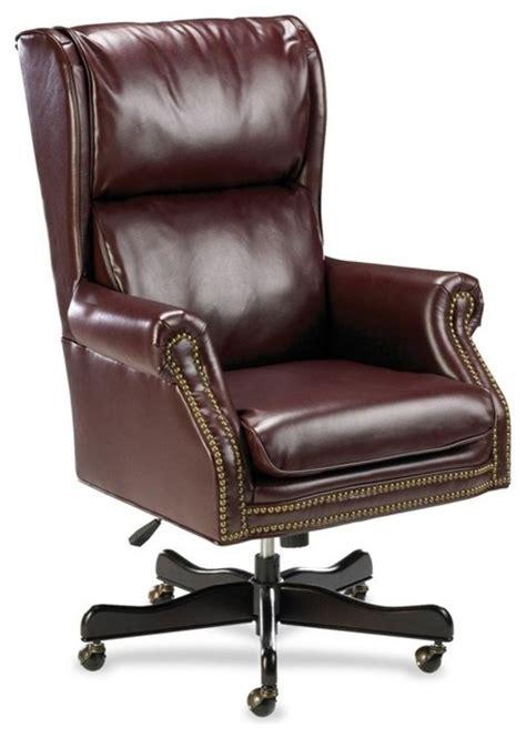 lorell traditional executive swivel tilt chair vinyl