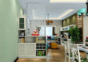 interior partitions for homes korean style living and dining room interior partition 3d house
