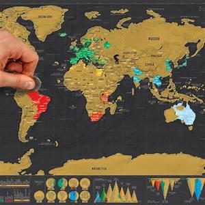 Carte Du Monde à Gratter Maison Du Monde : carte du monde a grater carte du monde ~ Teatrodelosmanantiales.com Idées de Décoration