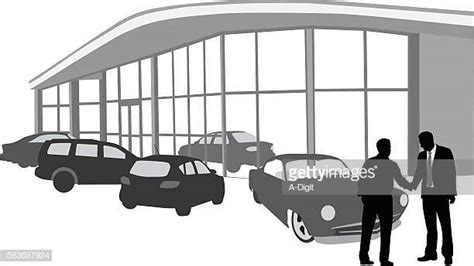 60 Top Car Dealership Stock Illustrations, Clip Art