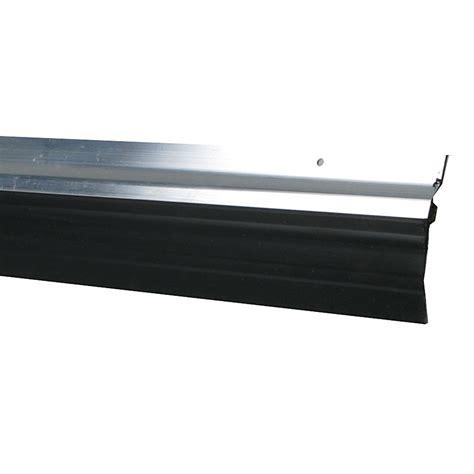 bas de porte brosse bas de porte 224 visser brosse axton l 250 cm aluminium leroy merlin