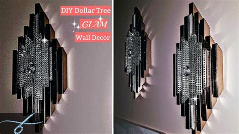 diy dollar tree glam wall decor diy room decor elegant