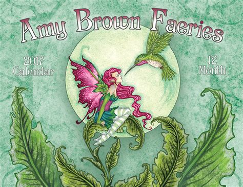 amy brown  fairy calendar fairy art  amy brown
