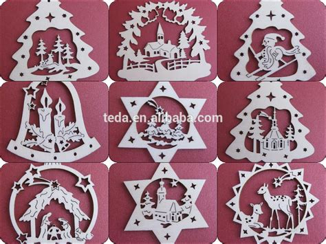 patterns for christmas cutouts 2015teda laser cut wood ornament patterns buy laser cut wood ornament