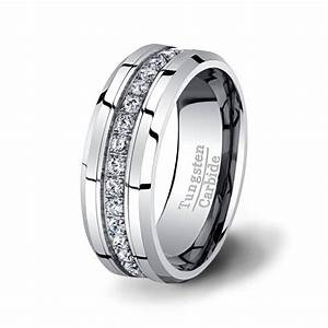 mens wedding band high end tungsten ring 8mm by tungstenomega With high end mens wedding rings