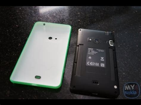 how to remove back cover and insert sim micro sd into the lumia 625 my nokia 200
