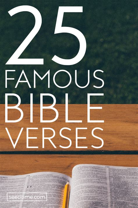 Do you know reading bible quotes on a regular basis, you can embark on the path of positive energy in your life? 25 Famous Bible Verses (Top Scriptures On Love, Strength, Hope & More)