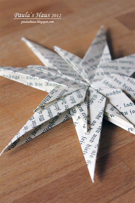 papiersterne falten