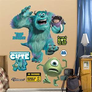 monsters inc wall decal shop fatheadr for monsters inc With monsters inc wall decals for kids room