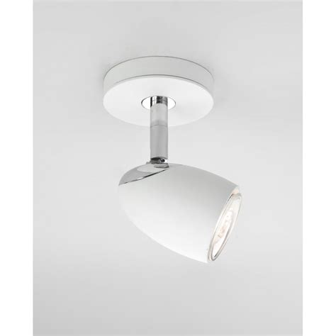 astro 6113 ovale single wall spotlight white