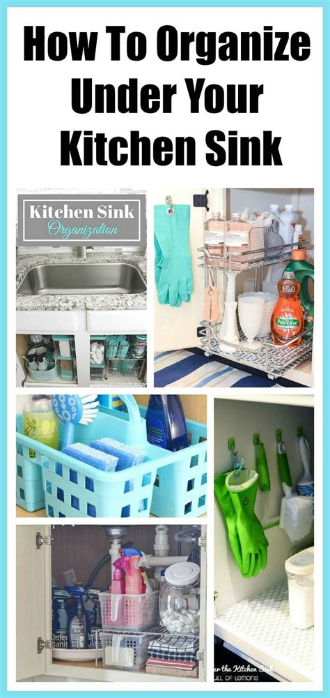 how to organize kitchen sink how to organize the kitchen sink space kitchen 8778