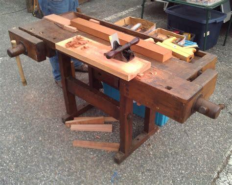 build woodworkers bench  sale craigslist  plans