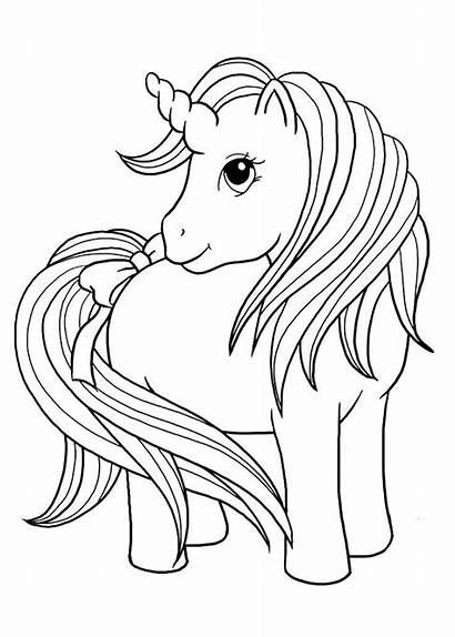Unicorn Coloring Printable Unicornio Colorear Momjunction Articulo