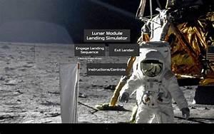 بازی شبیه ساز فرود آپولو Lunar Module Landing Simulator v1.0