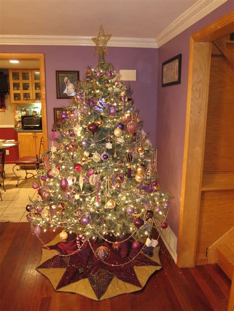 purple and gold top for tree 1000 images about purple and gold on decorations pew bows and