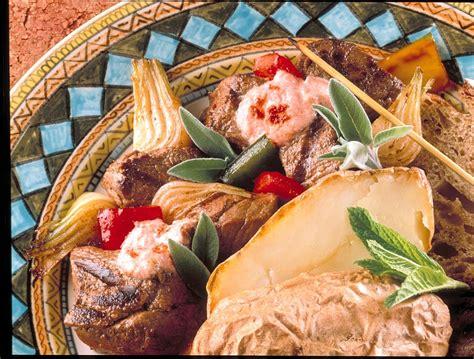 viande cuisin馥 brochettes de boeuf 224 la sauce turque recettes de