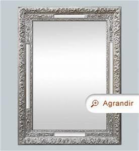 Miroir Vénitien Ancien : miroir ancien 1900 argent patin miroirs anciens ~ Preciouscoupons.com Idées de Décoration