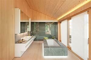 Badezimmer Tapete Wasserabweisend : welches material passt in mein bad beton fliesen oder holz ~ Frokenaadalensverden.com Haus und Dekorationen