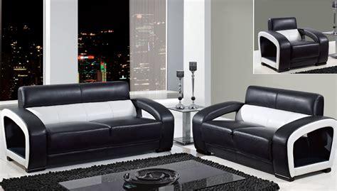 black and white sofa and loveseat global furniture black and white leather modern sofa