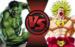 HULK vs BROLY! Cartoon Fight Club Episode 25 - YouTube