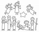 Figures Christmas Clipart Crib Stick Clip Figure Clipground 1000 sketch template