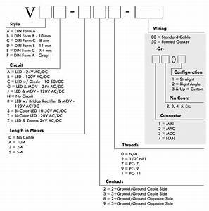 Mencom Solenoid Valve Connector Part Number Guide