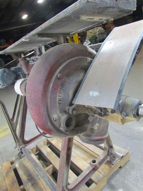 vintage drum sander floor model 1730rpm motor 220vac1ph